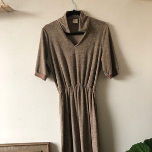 Dresses & Skirts - Vintage terry cloth dress